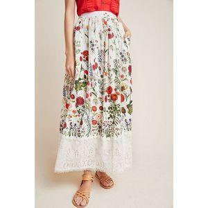 Anthropologie Payal Jain Genevieve Lace Maxi Skirt